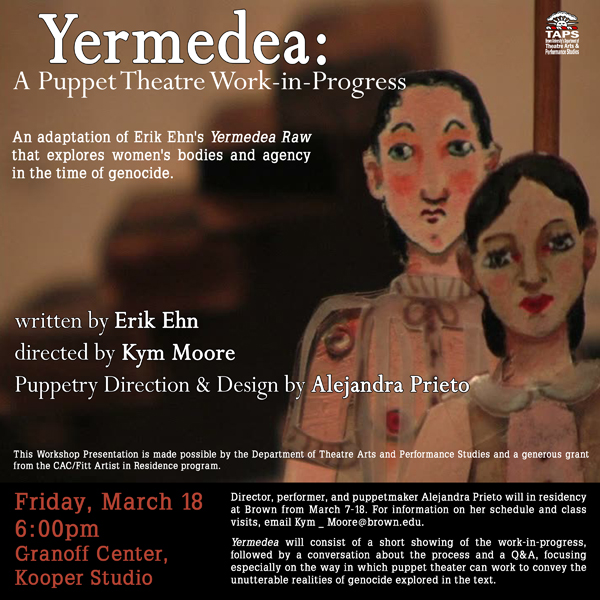 yermedea workshop sm Yermedea Workshop Friday, March 18th